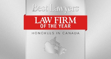 2021 Law Firm of the Year Awards in Canada