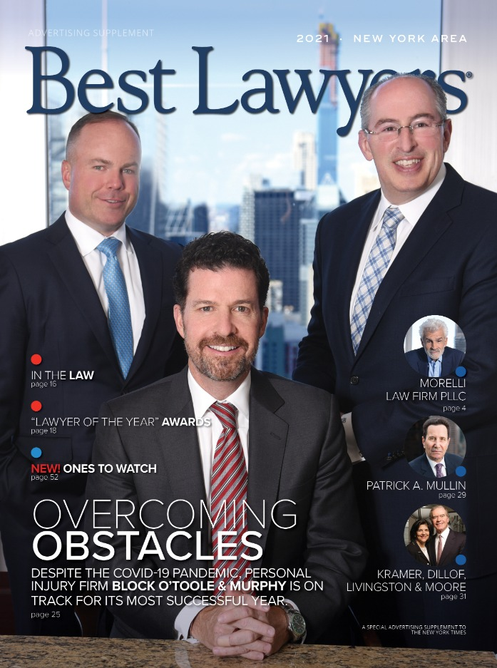 Image for New York Area's Best Lawyers