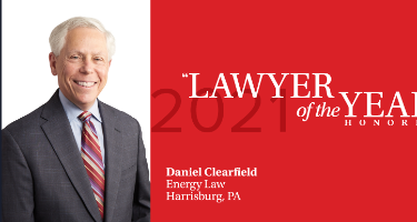Featured Article Daniel Clearfield - Harrisburg 2021 Lawyer of the Year
