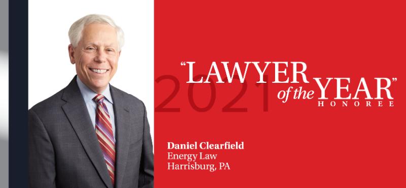 Daniel Clearfield - Harrisburg 2021 Lawyer of