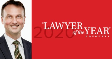 """Featured Article Chris Richter, Montréal's 2020 """"Lawyer of the Year"""" Honoree in Alternative Dispute Resolution"""