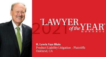 Featured Article R. Lewis Van Blois - Oakland 2021 Lawyer of the Year