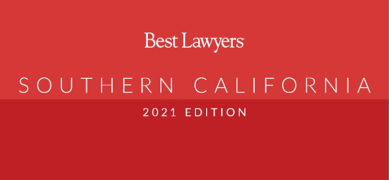 The 2021 Best Lawyers in Southern California