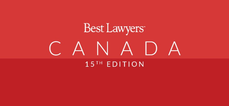 The Best Lawyers in Canada 15th Edition
