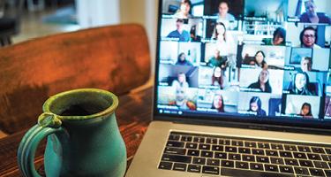Virtual Platforms Replacing Work Interactions
