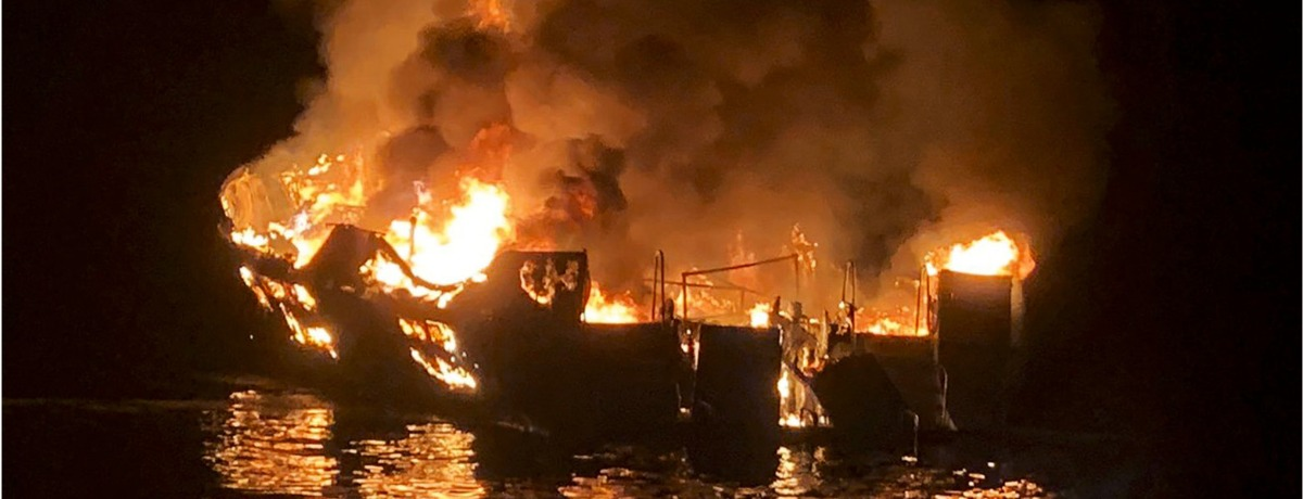 Who Is at Fault? The California Boat Fire.