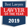 """""""Lawyer of the Year"""" badge"""