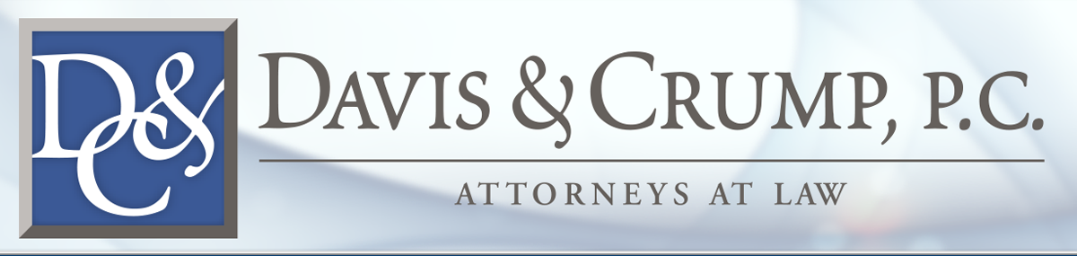 Header Image for Davis & Crump, P.C.