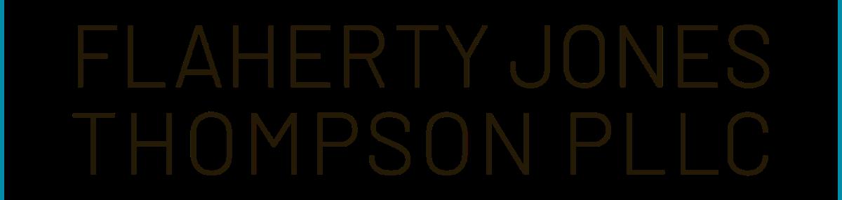 Header Image for Flaherty Jones Thompson PLLC