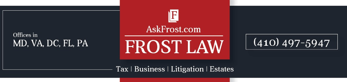 Header Image for Frost Law