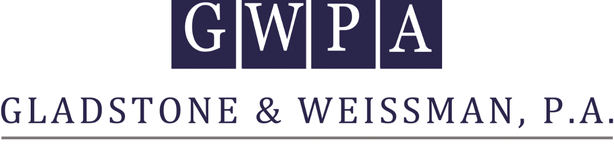 Header Image for Gladstone & Weissman, P.A.