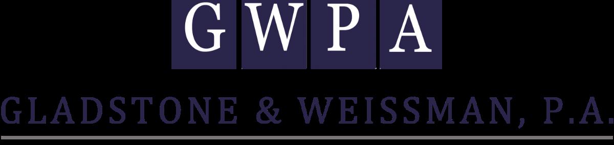 Header Image for Gladstone & Weissman, P.A.
