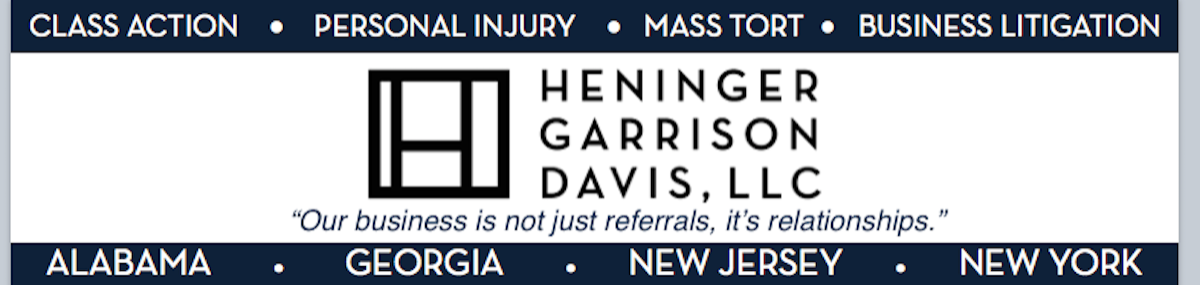 Header Image for Heninger, Garrison & Davis, LLC