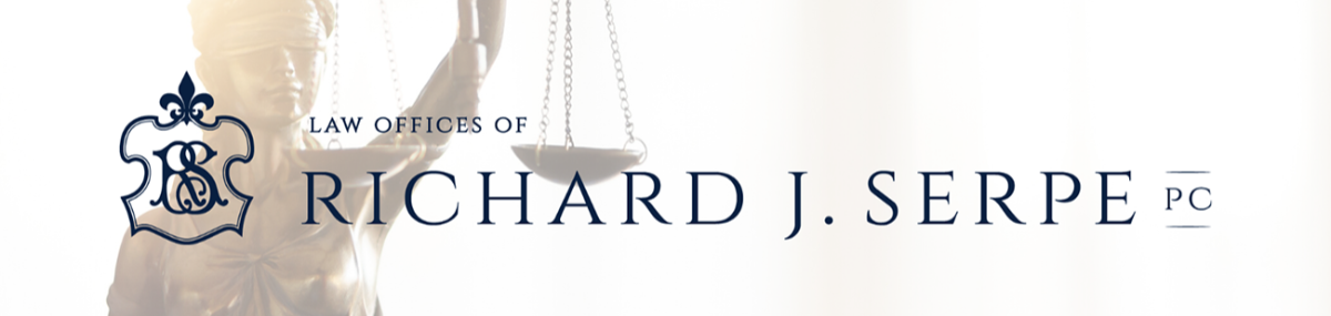 Header Image for Law Offices of Richard J. Serpe, P.C.