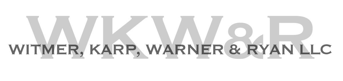 Header Image for Witmer, Karp, Warner & Ryan LLP