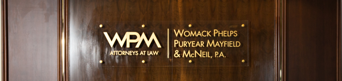 Header Image for Womack Phelps Puryear Mayfield & McNeil, P.A.