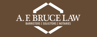 A. F. Bruce Law