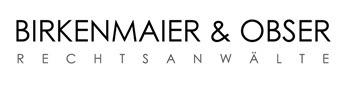 BIRKENMAIER & OBSER Rechtsanwälte + ' logo'