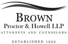 Brown, Proctor & Howell, L.L.P.