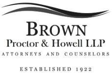 Brown, Proctor & Howell, L.L.P.