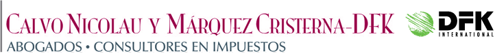 Calvo Nicolau y Márquez Cristerna-DFK , S.C. Logo