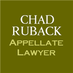 Chad Ruback, Appellate Lawyer + ' logo'