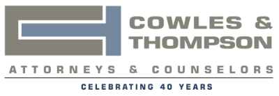 Image for Cowles & Thompson