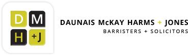 Daunais McKay + Harms + ' logo'
