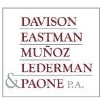 Davison, Eastman, Muñoz, Lederman & Paone, P.A.