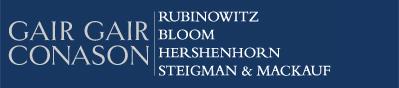 Image for Gair, Gair, Conason, Rubinowitz, Bloom, Hershenhorn, Steigman & Mackauf