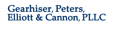 Gearhiser, Peters, Elliott & Cannon, PLLC + ' logo'