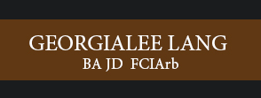 Georgialee Lang Attorney and Arbitrator