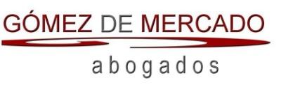 Gómez de Mercado Abogados + ' logo'