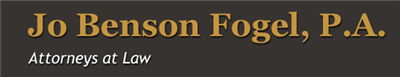 Jo Benson Fogel , P.A. Logo