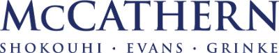 McCathern, Shokouhi, Evans, Grinke, PLLC + ' logo'