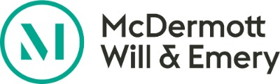 McDermott Will & Emery LLP + ' logo'