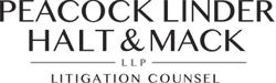 Peacock Linder Halt & Mack LLP + ' logo'