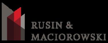 Rusin & Maciorowski, Ltd. + ' logo'