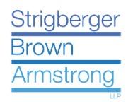 Strigberger Brown Armstrong LLP + ' logo'