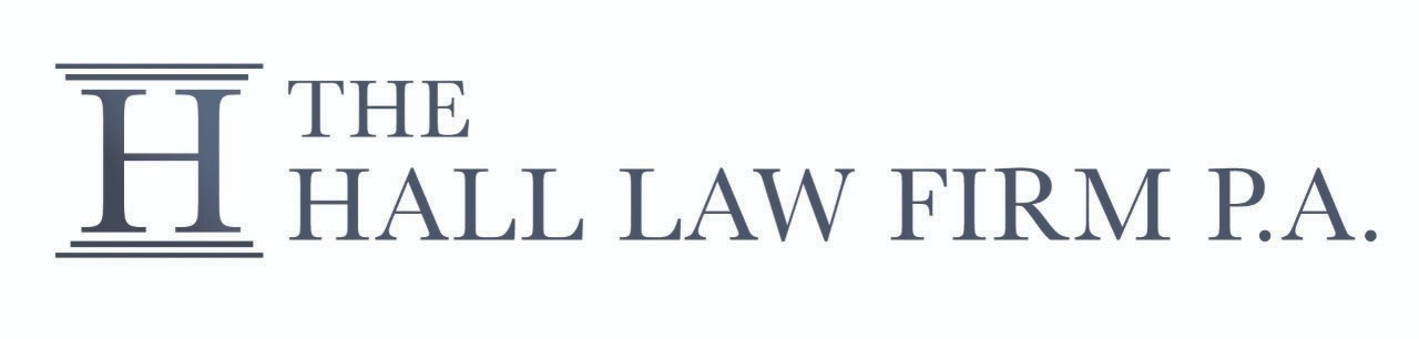 The Hall Law Firm , P.A. Logo