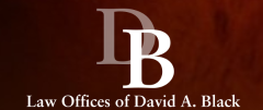 The Law Offices of David A. Black + ' logo'