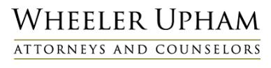 Wheeler Upham, P.C.