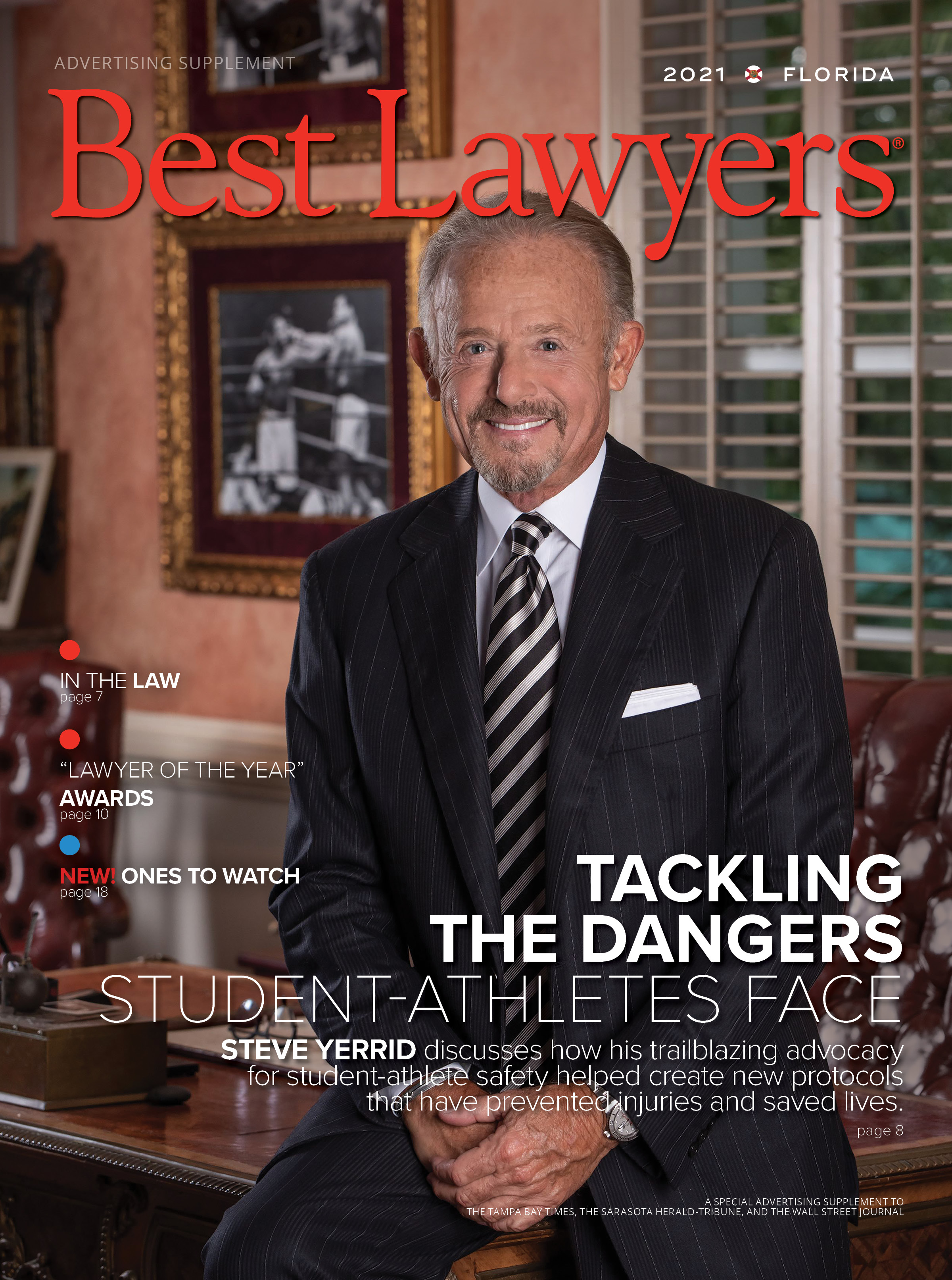 2021 Tampa's Best Lawyers cover
