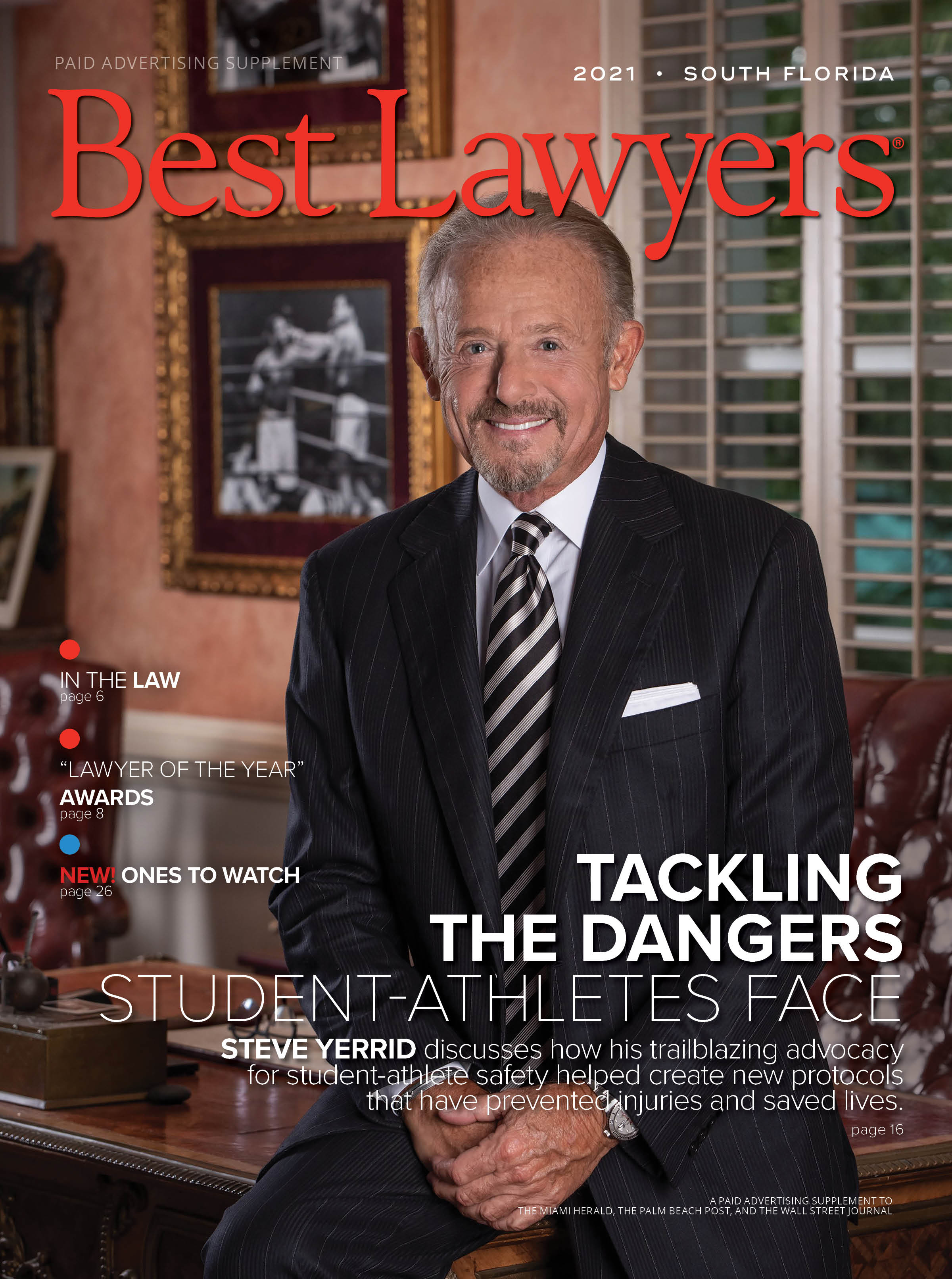 2021 South Florida's Best Lawyers cover