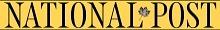 Logo for National Post