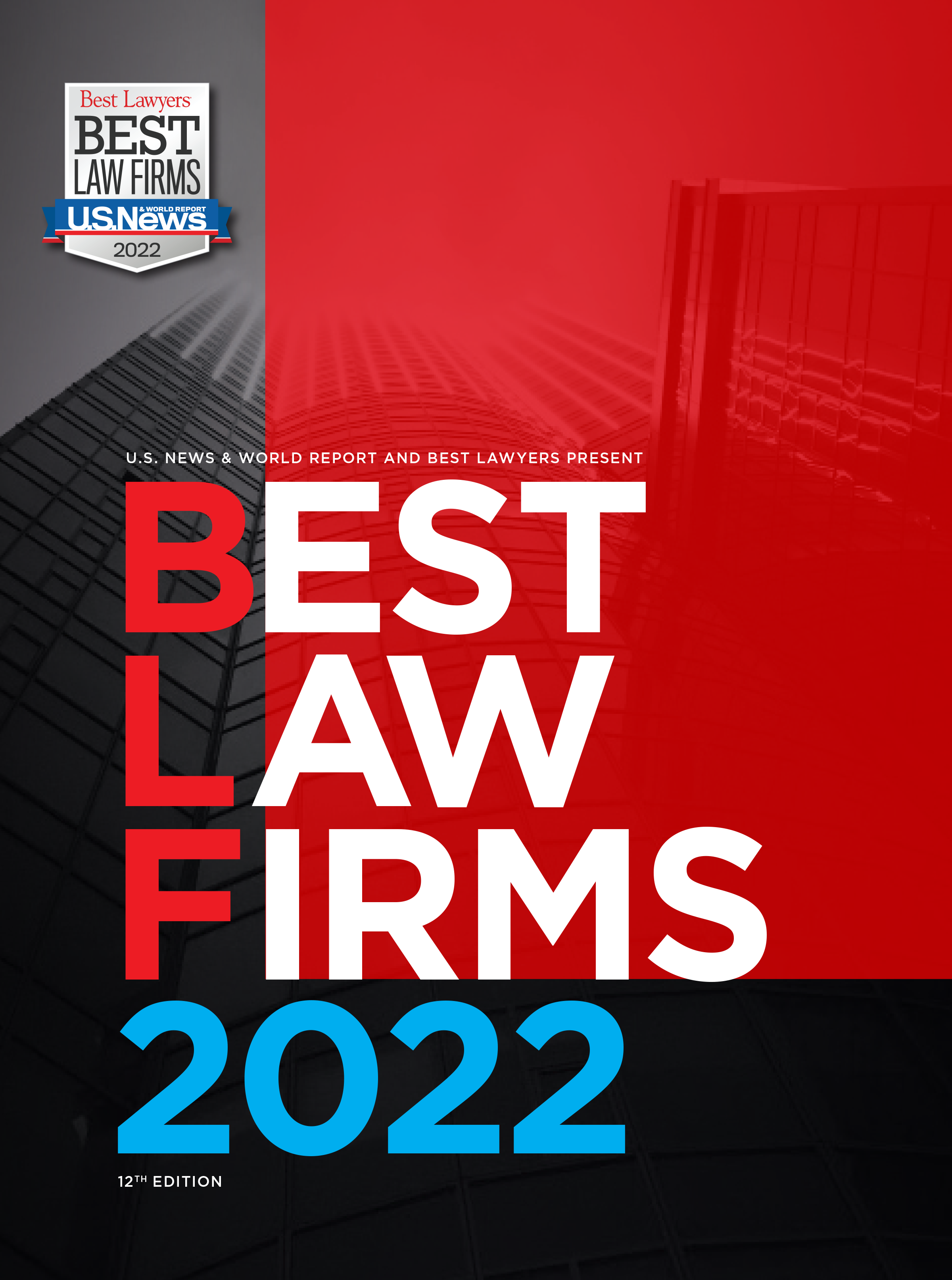 Cover for our Best Law Firms publication