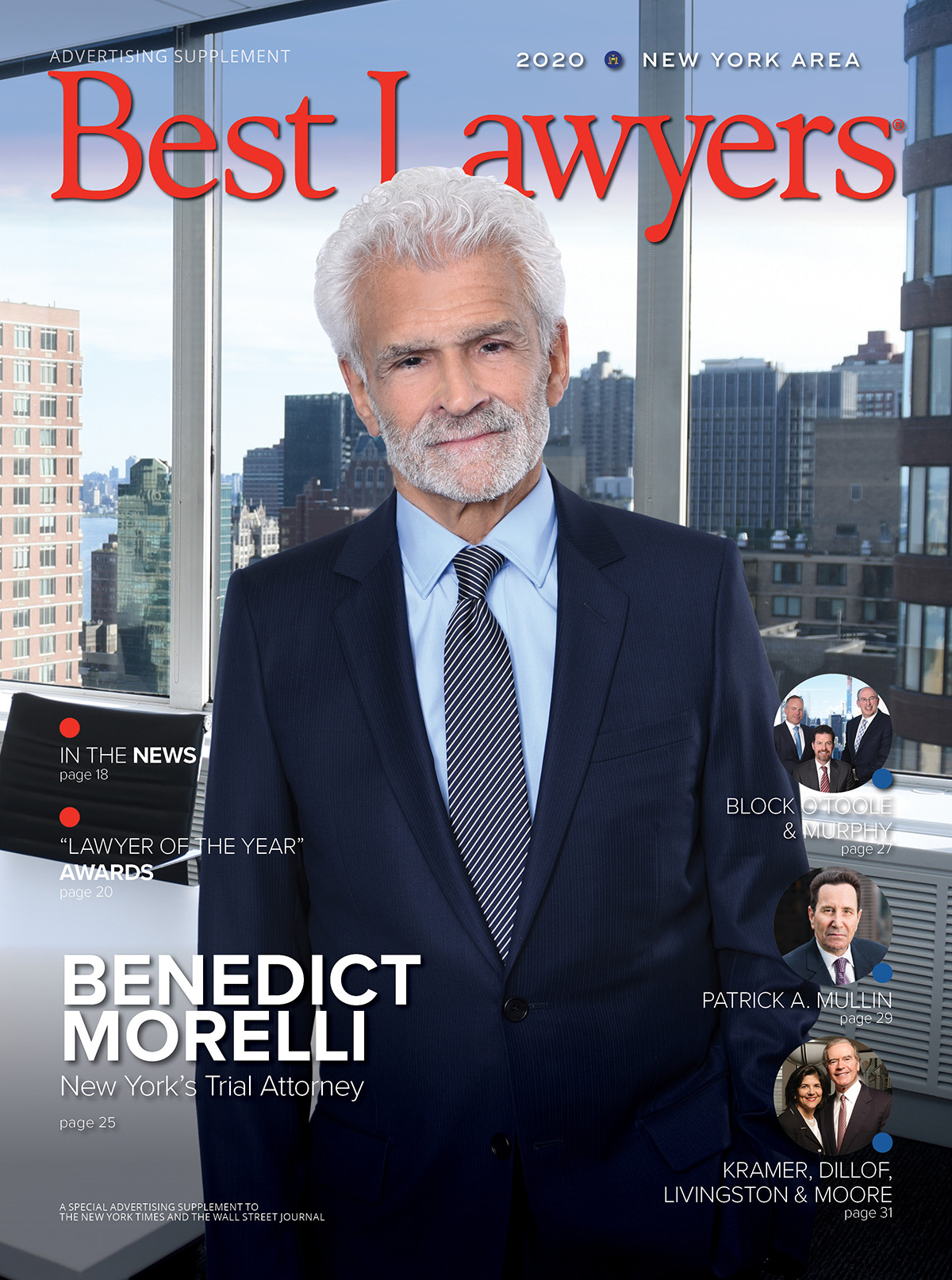 Cover for our New York publication