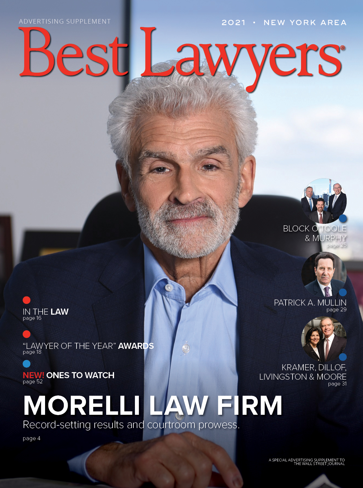 Cover for our New York Area publication