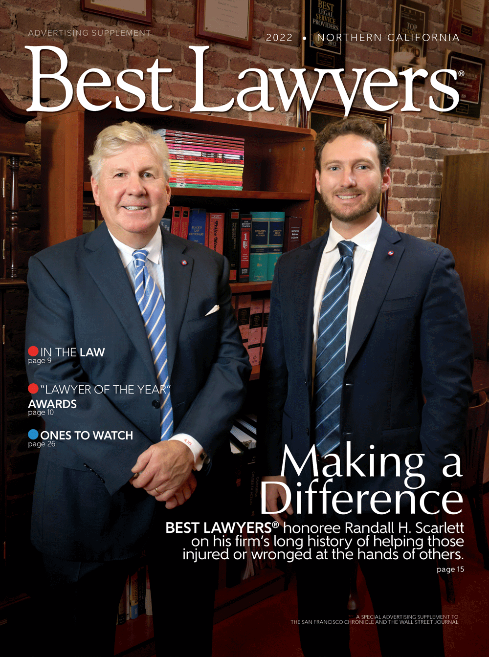 Cover for our Northern California publication
