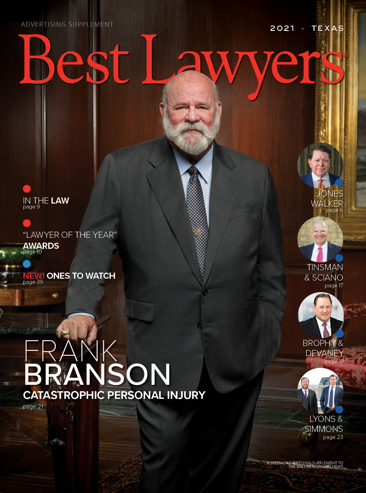 Cover for our Texas publication